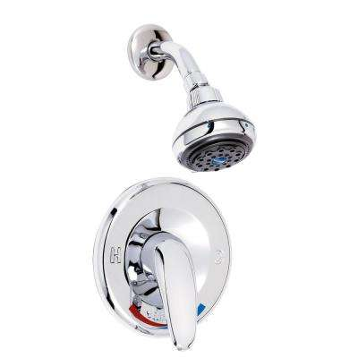 Belanger Single-Handle 3-Spray Shower Faucet in Polished Chrome (Valve Included)