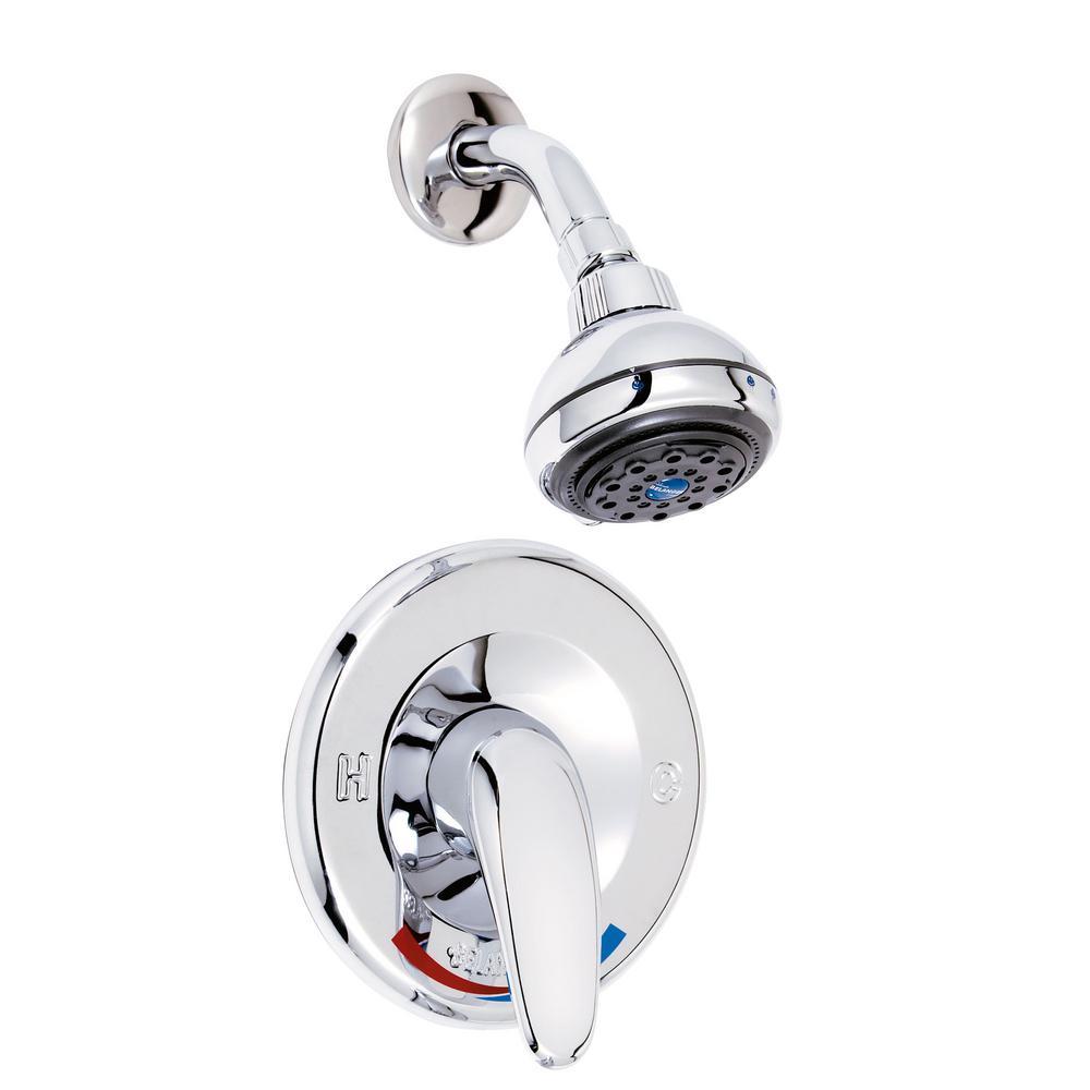 Belanger Single-Handle 3-Spray Shower Faucet in Polished Chrome (Valve Included)