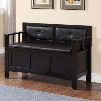 Carlton Black Bench