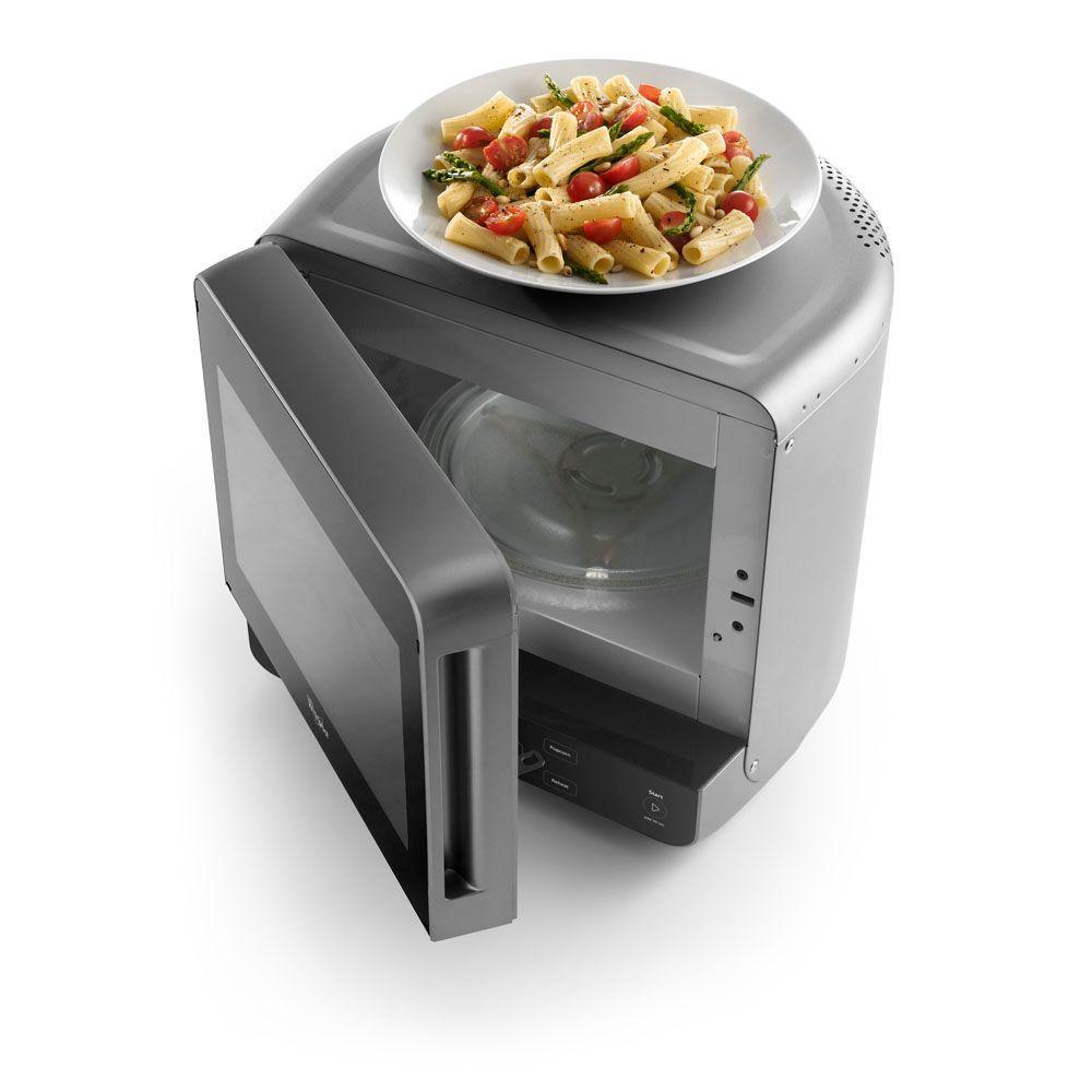 0.5 cu. ft. Countertop Microwave in Black