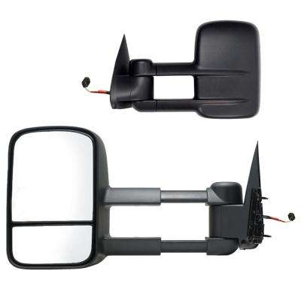 Towing Mirror for 99-02 Silverado/Sierra 00-02 Escalade/Avalanche/Suburban/Tahoe/Yukon Foldaway Pair