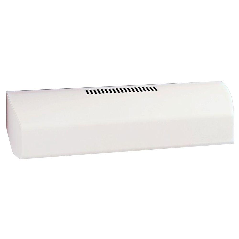 GE Profile 36 in. Convertible Range Hood in White