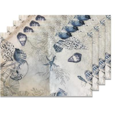 Indoor/Outdoor Ocean Placemat (Set of 4)