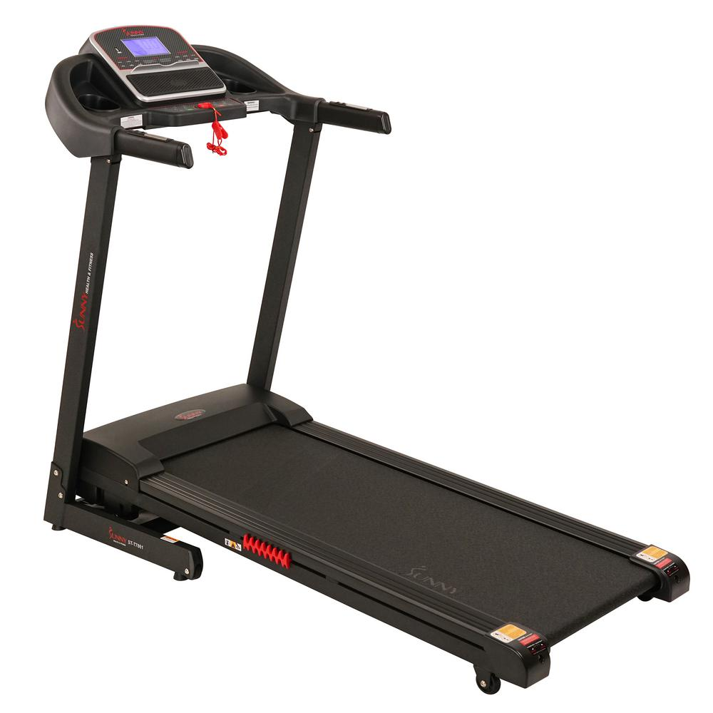 Sunny Health & Fitness Electric Treadmill with Incline