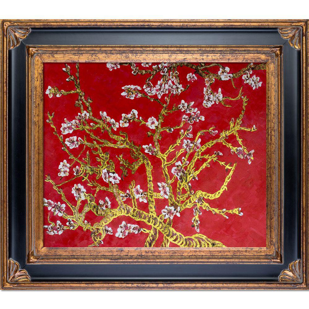LA PASTICHE Branches of an Almond Tree in Blossomby Originals Framed Abstract Wall Art 30 in. x 34 in., Multi-Colored was $979.0 now $457.56 (53.0% off)