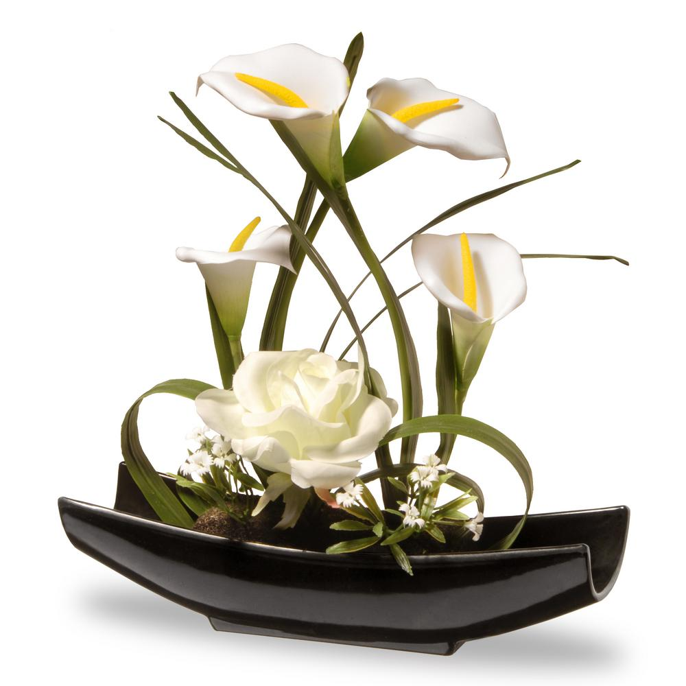 Silk Calla Lily Centerpieces Compare Prices At Nextag