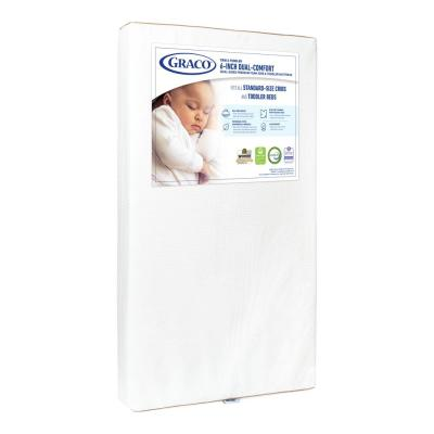 Graco 6 in. Dual-Comfort Foam Crib and Toddler Mattress