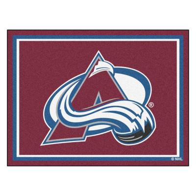 NHL Colorado Avalanche Burgundy 8 ft. x 10 ft. Indoor Area Rug