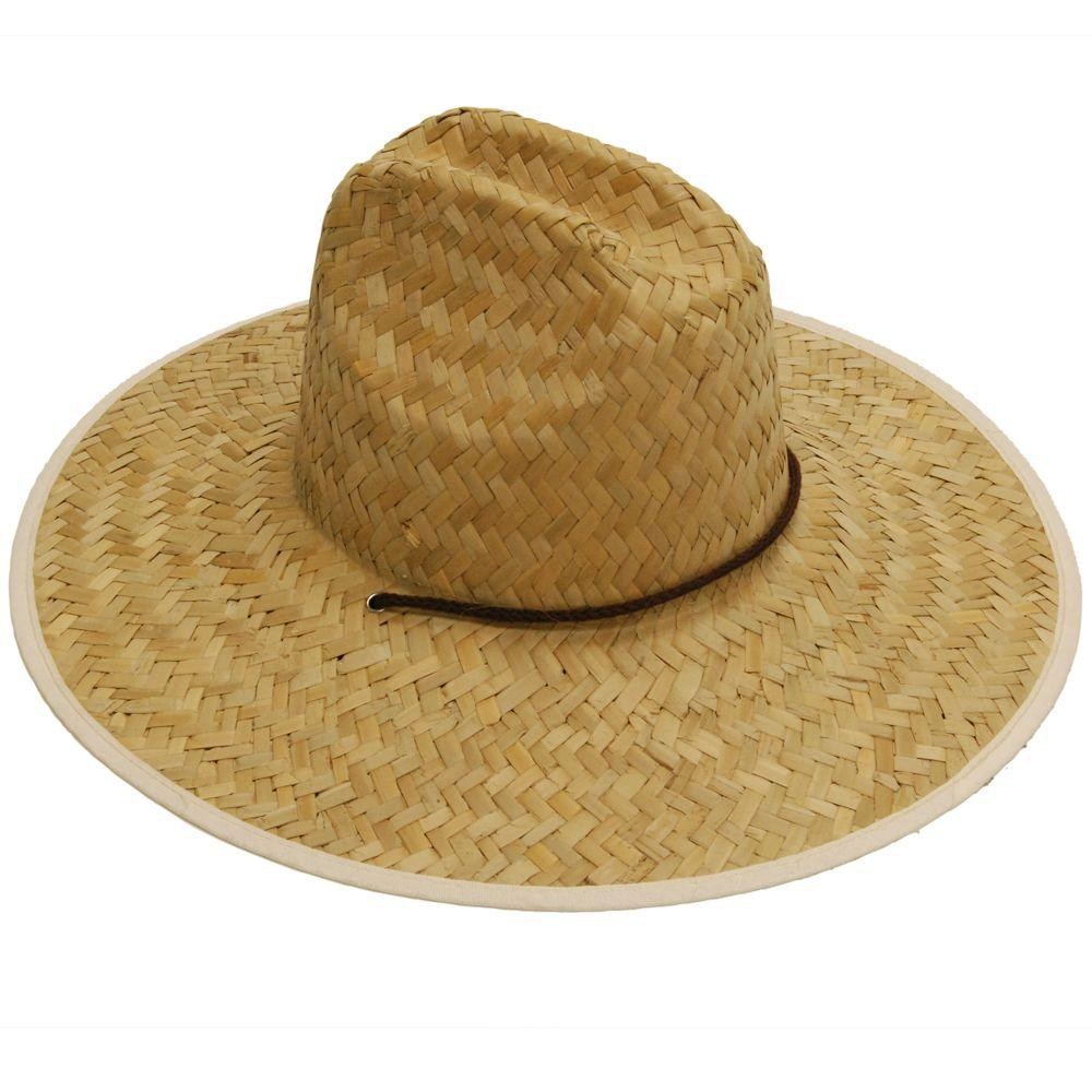 7521994510c Men s Straw Hat-MS0003 - The Home Depot