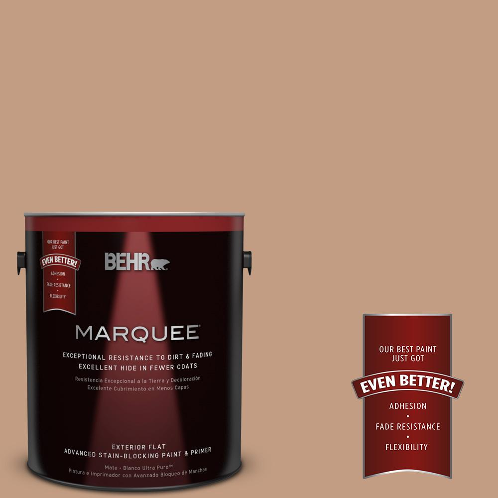 BEHR MARQUEE 1-gal. #S210-4 Canyon Dusk Flat Exterior Paint