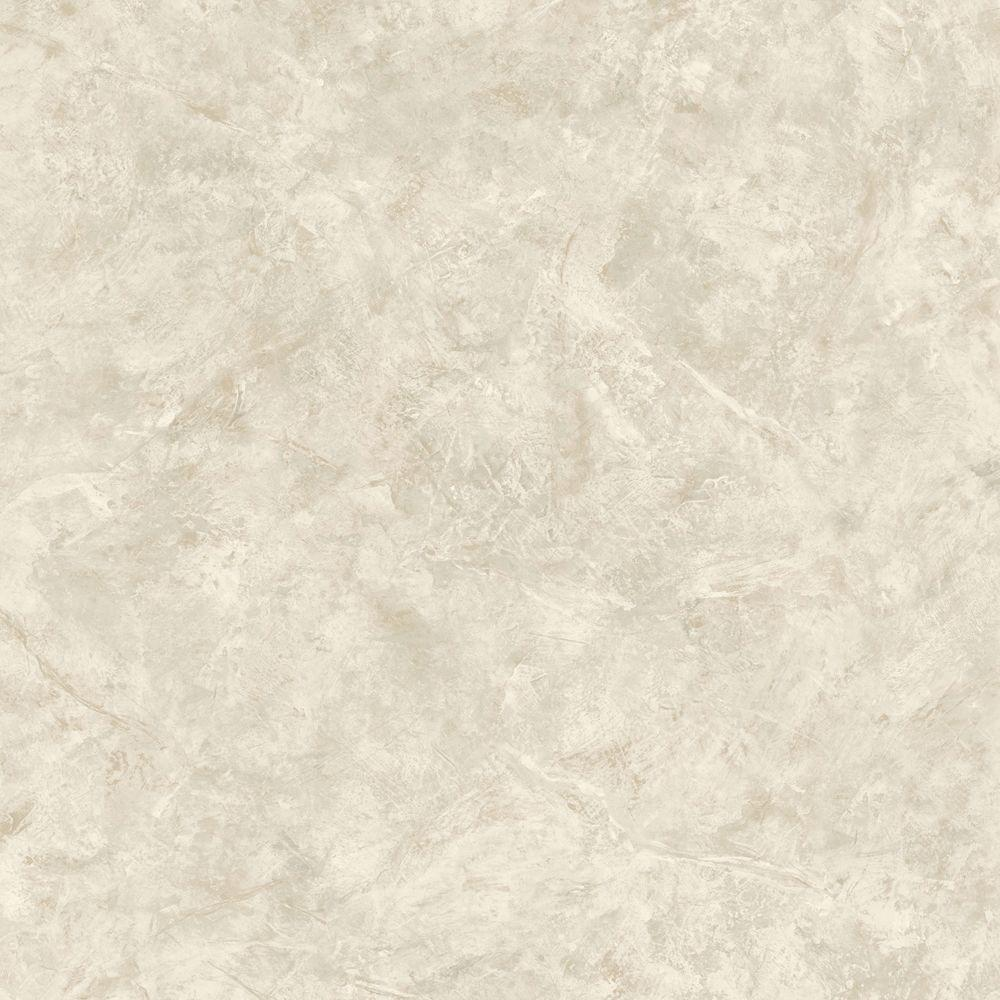 The Wallpaper Company 8 in. x 10 in. Beige Marble Wallpaper Sample