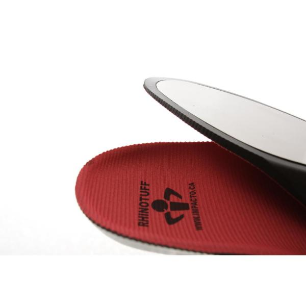 Red Puncture Resistant Insoles