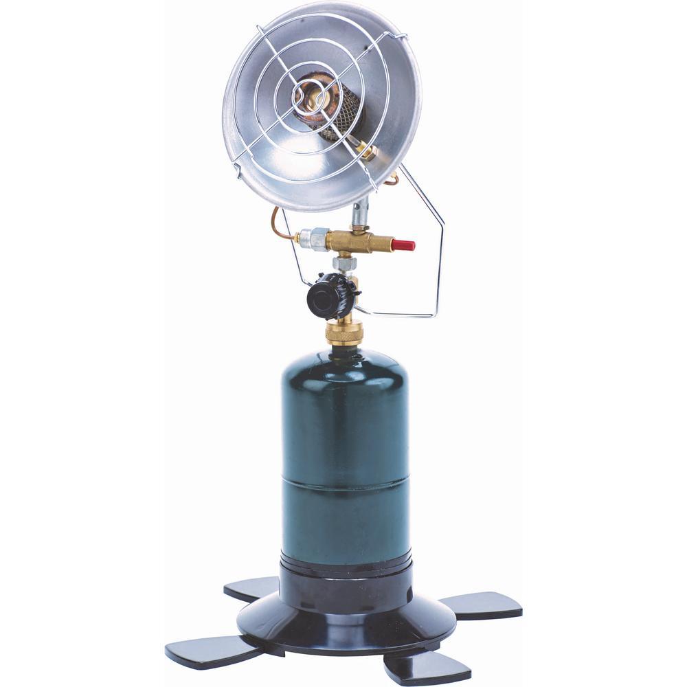 3,000 BTU Camping Propane Bottle Portable Gas Patio Heater