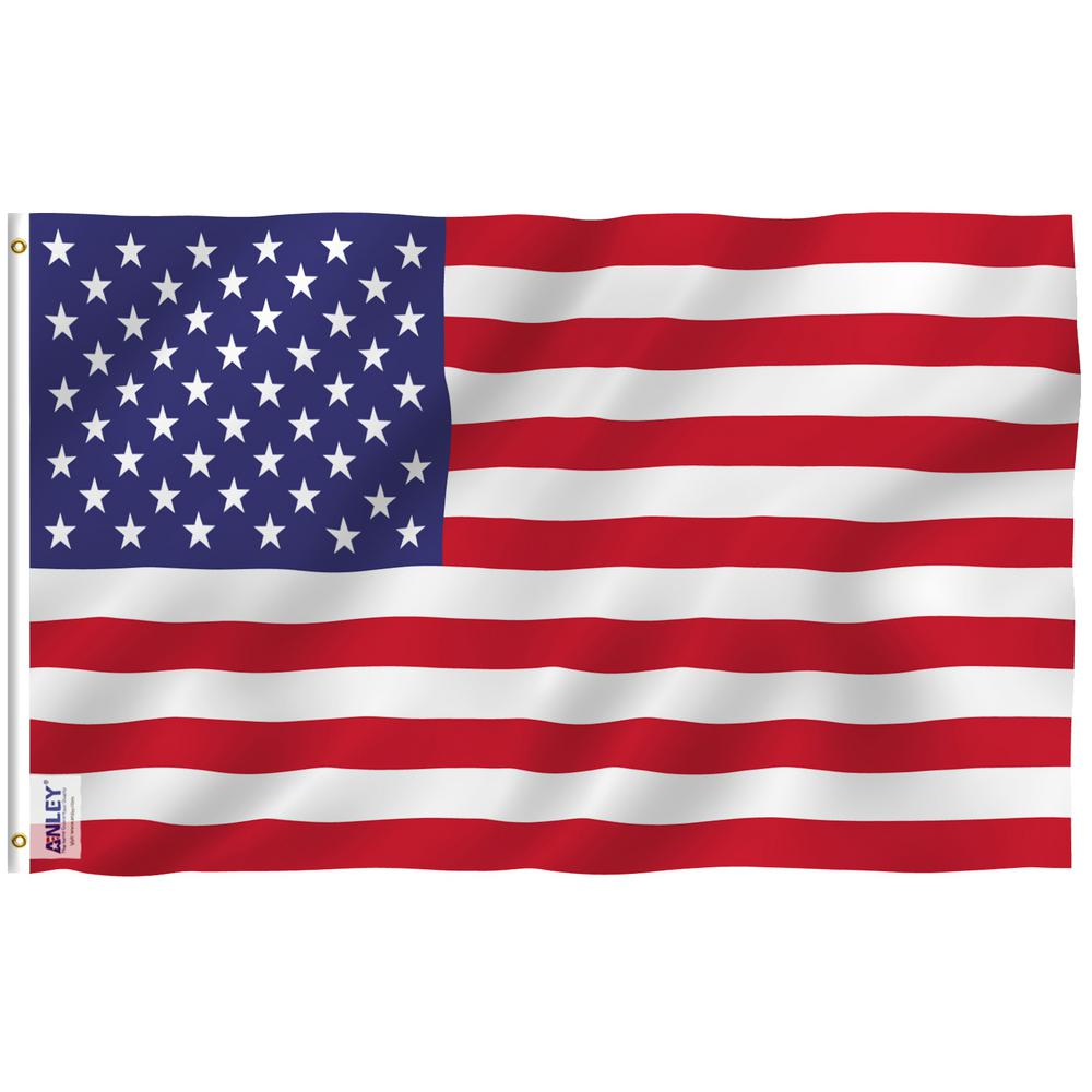 Anley Fly Breeze 3 Ft X 5 Ft Polyester Usa American