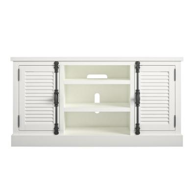 Heathrow 59 in. White TV Stand for TVs up to 65 in.