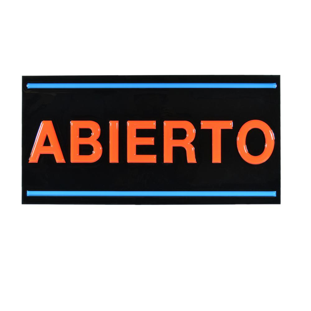 Royal Sovereign LED Abierto Sign