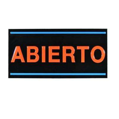 LED Abierto Sign