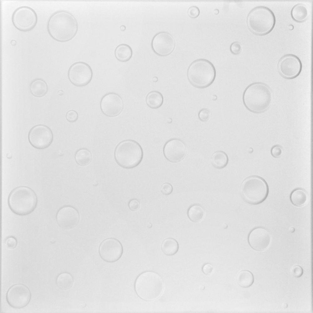 a la maison ceilings bubbles 1 6 ft  x 1 6 ft  foam glue