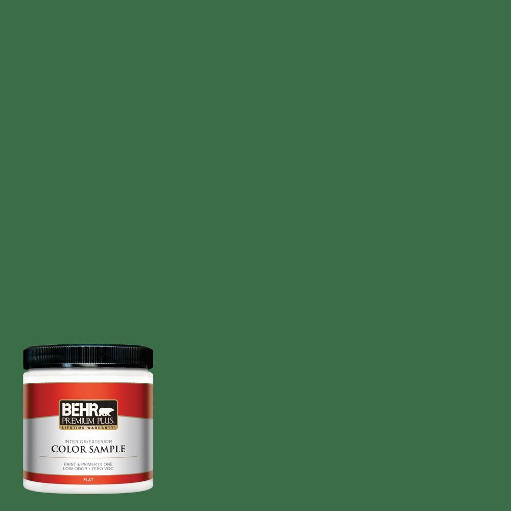 8 oz. #S-H-450 Parsley Sprig Interior/Exterior Paint Sample