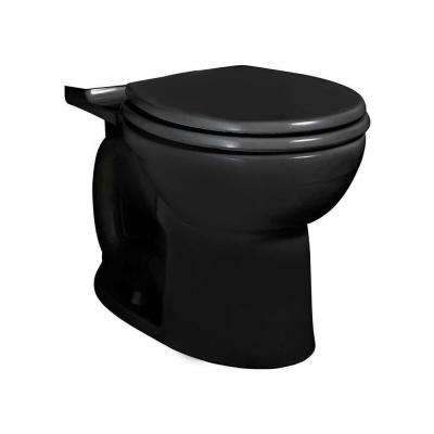 Cadet 3 FloWise Round Toilet Bowl Only in Black