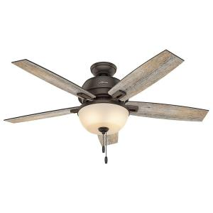 Hunter Donegan 52 inch LED Indoor Onyx Bengal Bronze Ceiling Fan by Hunter
