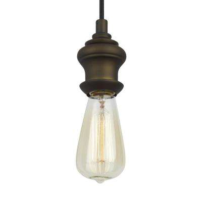 Corddello 1-Light Dark Aged Brass Mini Pendant