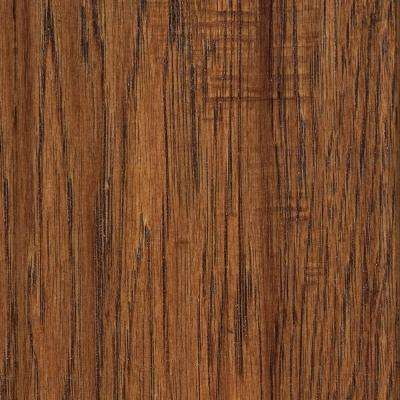 Distressed Kinsley Hickory Solid Hardwood Flooring - 5 in. x 7 in. Take Home Sample
