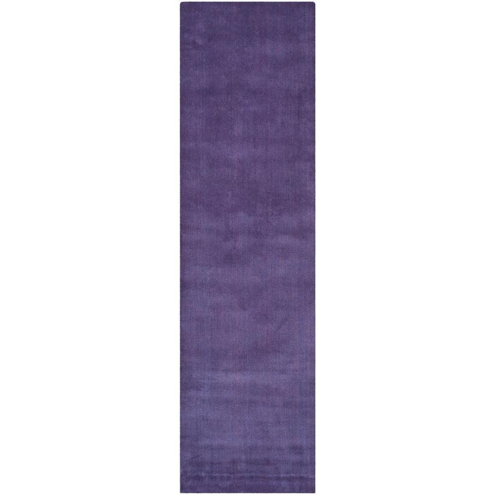 Safavieh Himalaya Purple 2 Ft 3 In X 12 Runner Rug Him610b 212 The Home Depot