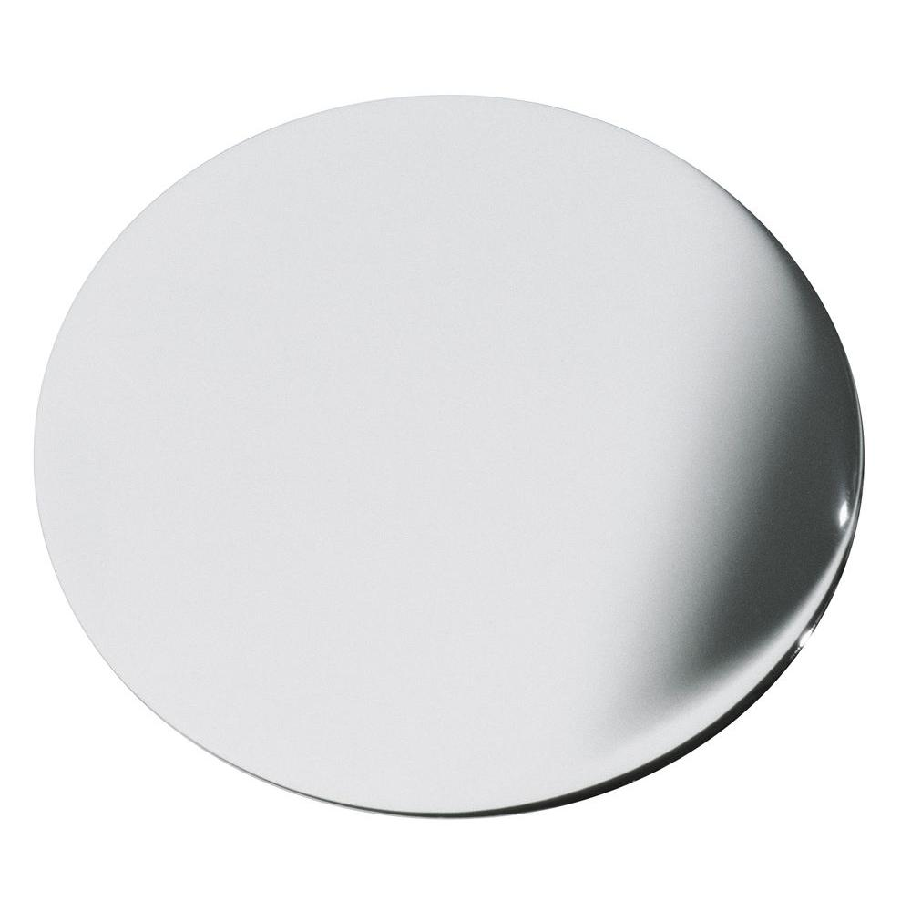 null 1-3/4 in. Sink-Hole Cover in Polished Chrome