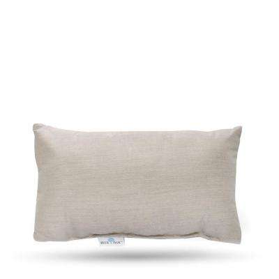 Outdura Remy Sand Rectangular Lumbar Outdoor Throw Pillow (2-Pack)
