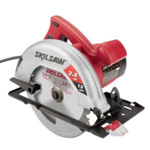 13 Amp Corded Electric 7-1/4 in. Circular Saw with 24-Teeth Carbide Blade and Carrying Bag