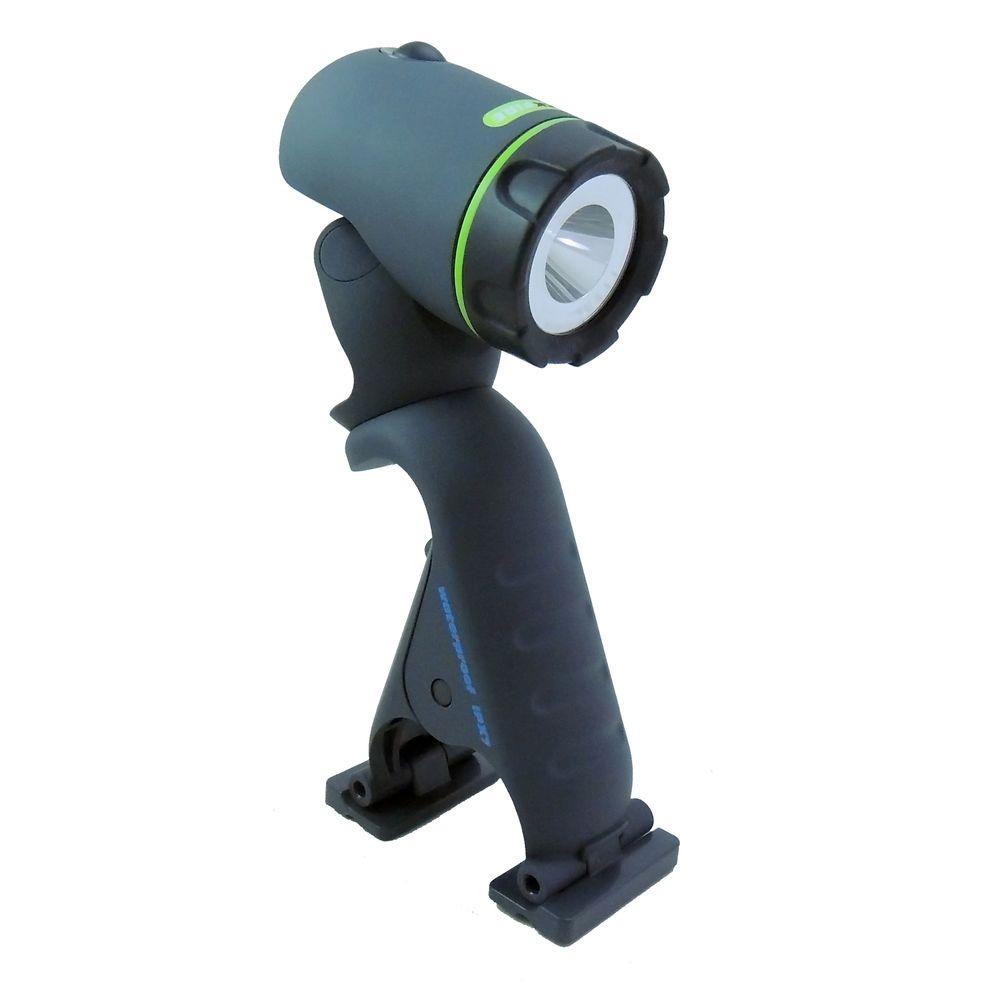 Waterproof Clamplight LED Flashlight