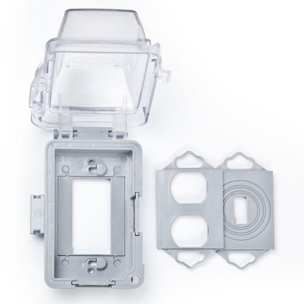clear covers mm420c 64_1000 covers electrical boxes, conduit & fittings the home depot fuse box cover home depot at bayanpartner.co