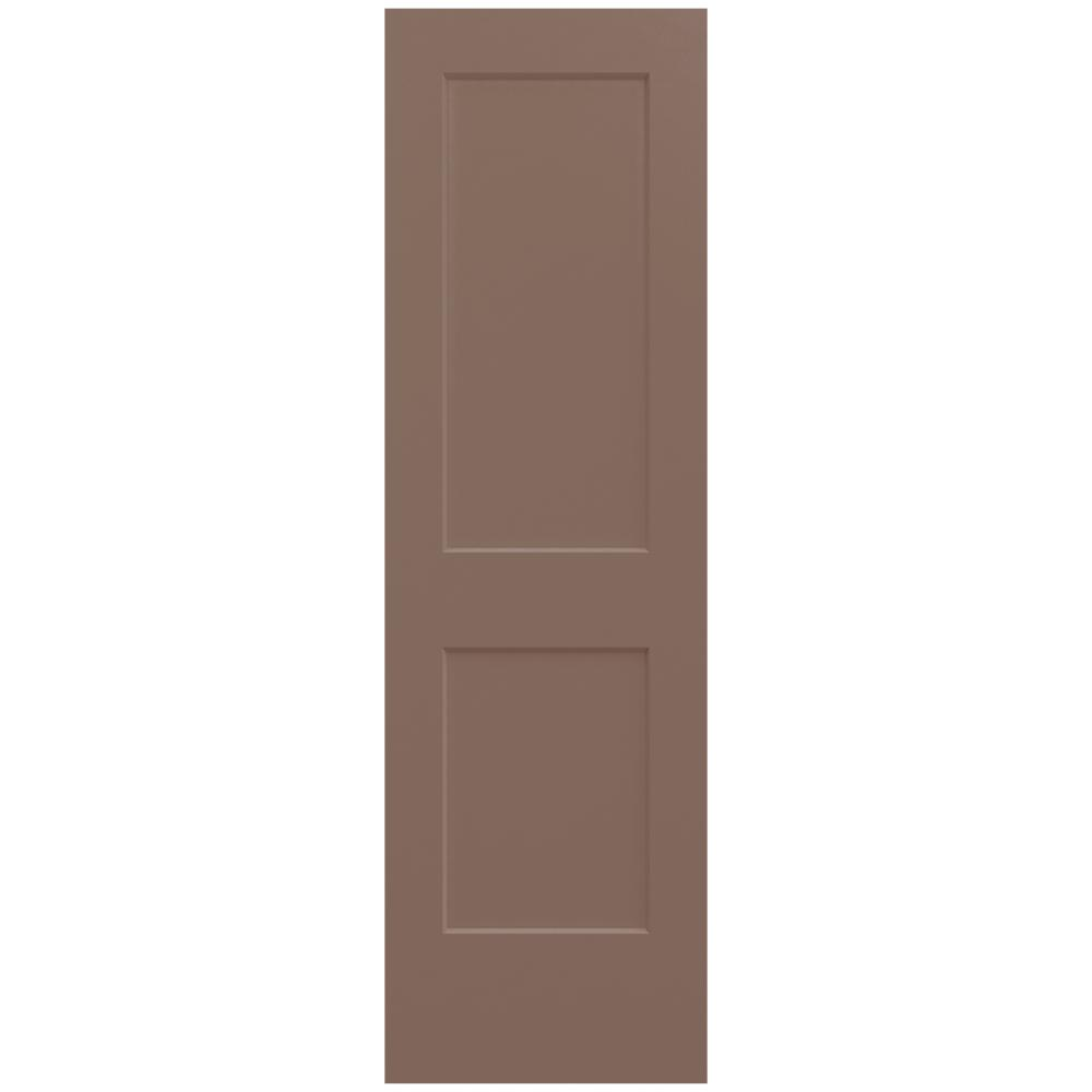 home depot jeld wen interior doors jeld wen 24 in x 80 in medium chocolate painted 26758