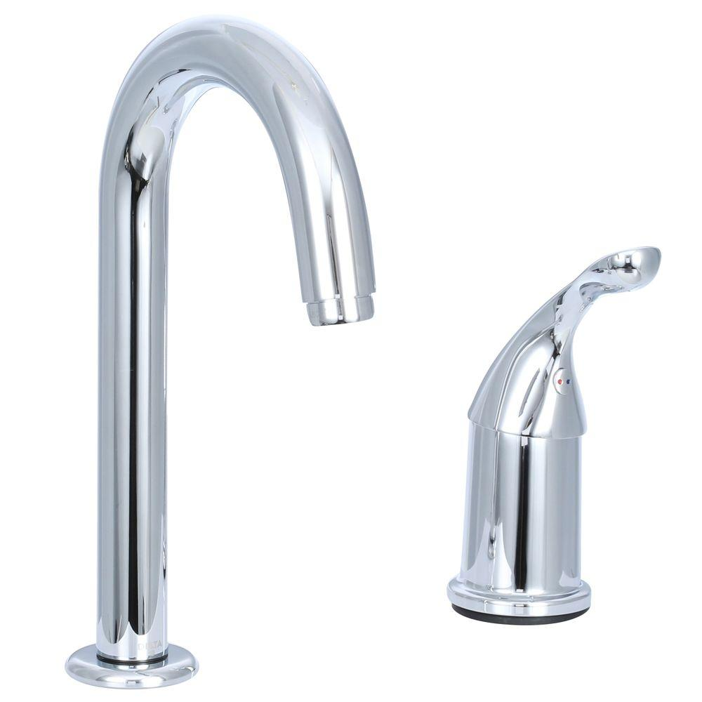 Delta Classic Single-Handle Bar Faucet in Chrome-1903-DST - The Home ...