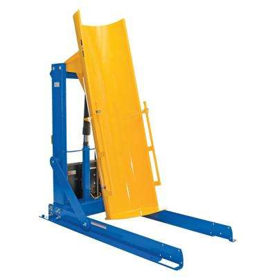 72 in. 1,500 lb. Capacity Stationary Hydraulic Drum Dumpers