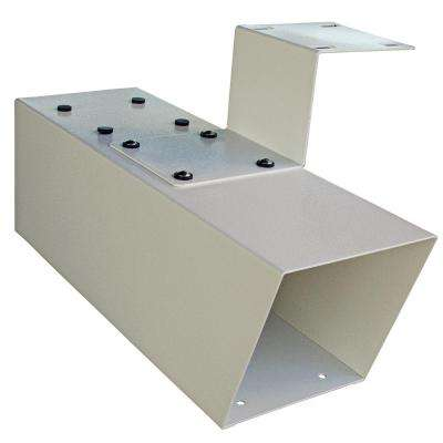 Steel Newspaper Holder in White