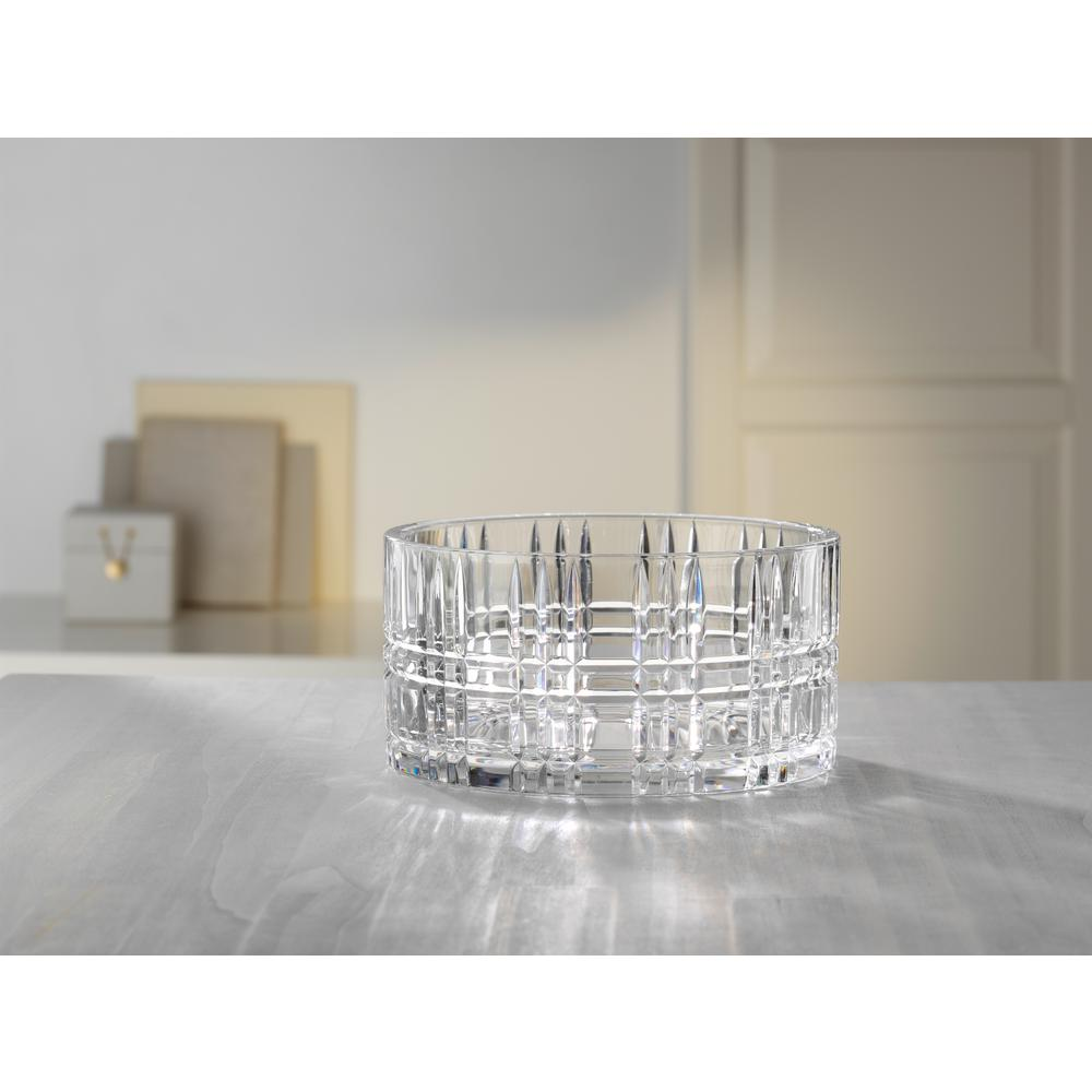 Square 9 in. Crystal Decorative Bowl in Clear  sc 1 st  Home Depot & Decorative Plates \u0026 Bowls - Decorative Storage - The Home Depot