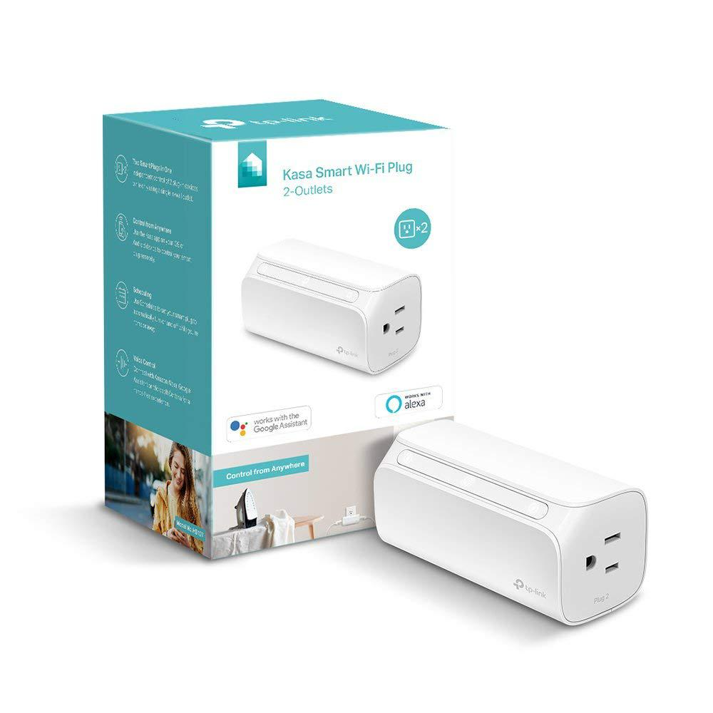 TP-LINK Smart Wi-Fi Plug Mini with 2-Outlets