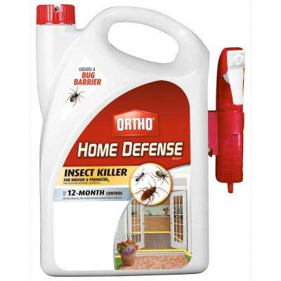 Home Defense Max 1 Gal. Ready-to-Use Perimeter and Indoor Insect Killer (Case of 4)