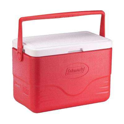 28 Qt. Cooler with Bail Handle, Red