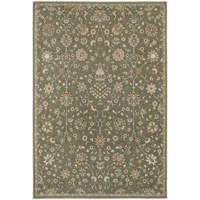 Lindon Brown 9 ft. 10 in. x 12 ft. 10 in. Area Rug