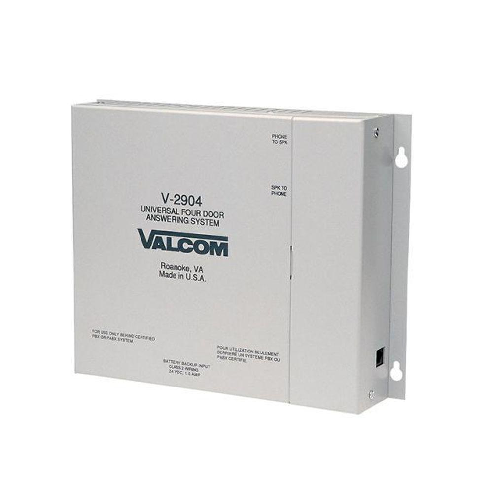 Valcom Wired 4 Door Bells With Door Unlock
