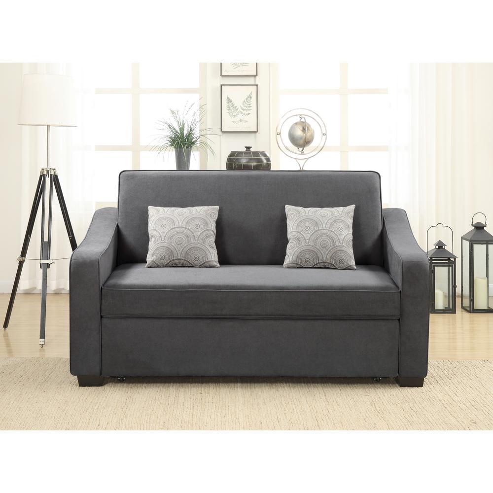 Harrington Grey Queen Sized Pullout Sofa