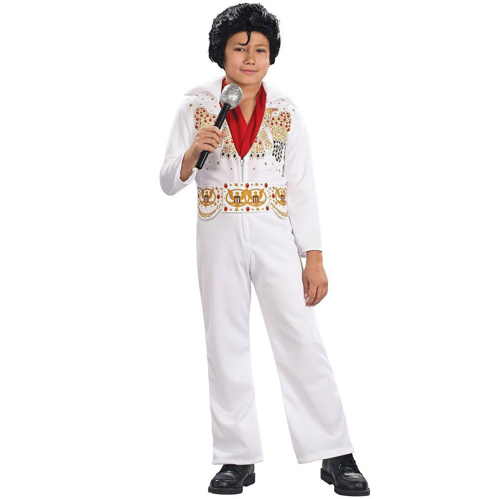 Rubie s Costumes Child Elvis Presley Costume-R883480 M - The Home Depot ad1c9a983a3f