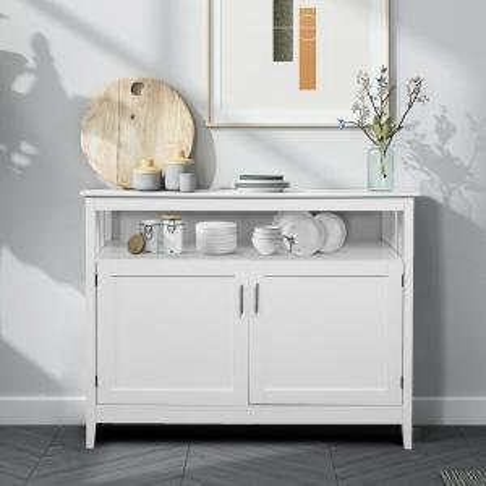 Costway Modern Kitchen Storage Cabinet Buffet Server Table
