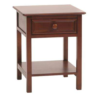 Wakefield 1-Drawer Cherry Nightstand