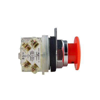 30 mm Mushroom Head Maintained Push Button Switch