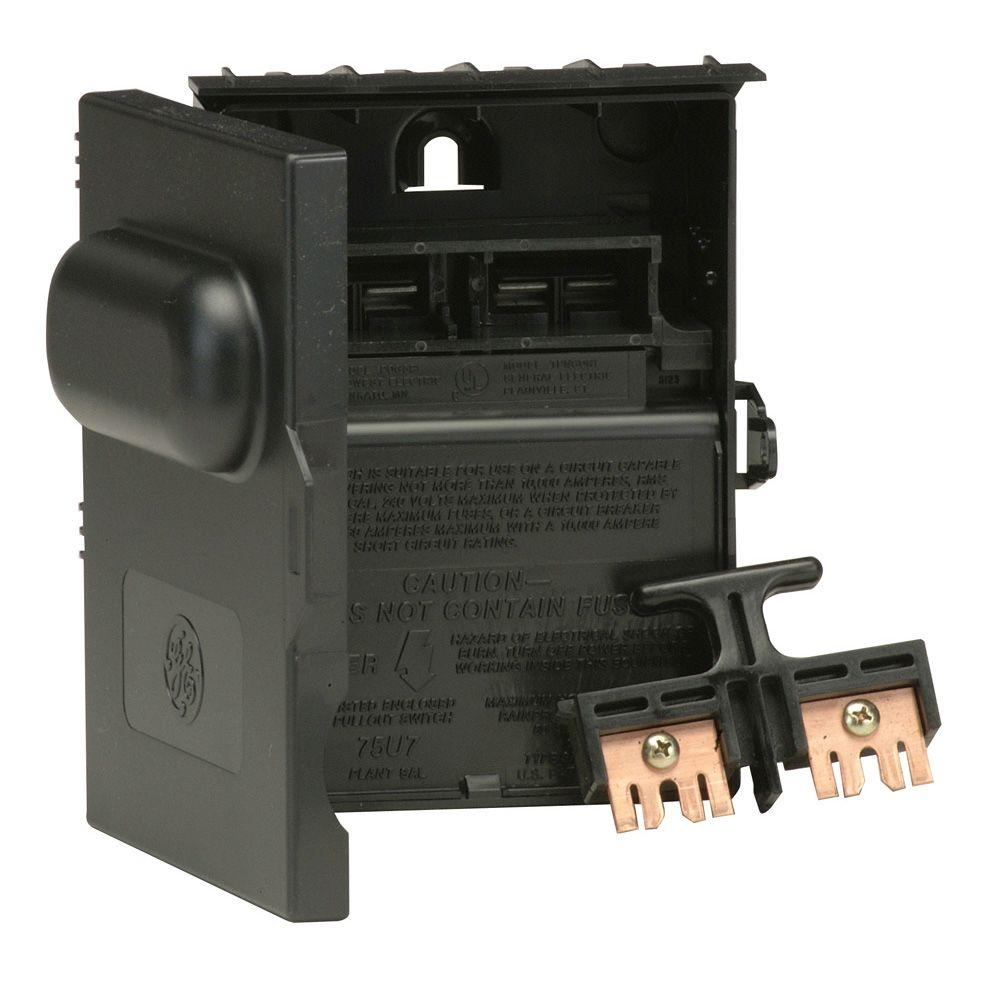 ge electrical disconnects tpn60r1cp 64_1000 ge 60 amp 240 volt 240 watt non fuse non metallic ac disconnect