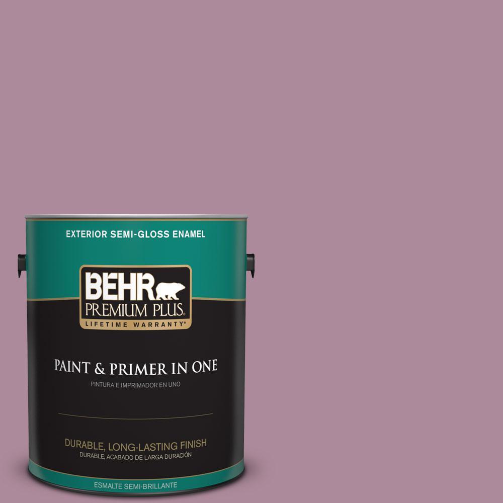 BEHR Premium Plus 1-gal. #S120-5 Reserve Semi-Gloss Enamel Exterior Paint
